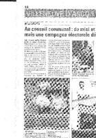 Interventions des élus communistes au conseil communal d'Hellemmes du 26 Septembre 2013