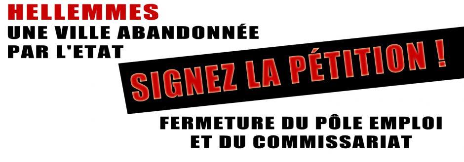 Pour nos services publics, signez la pétition en ligne !