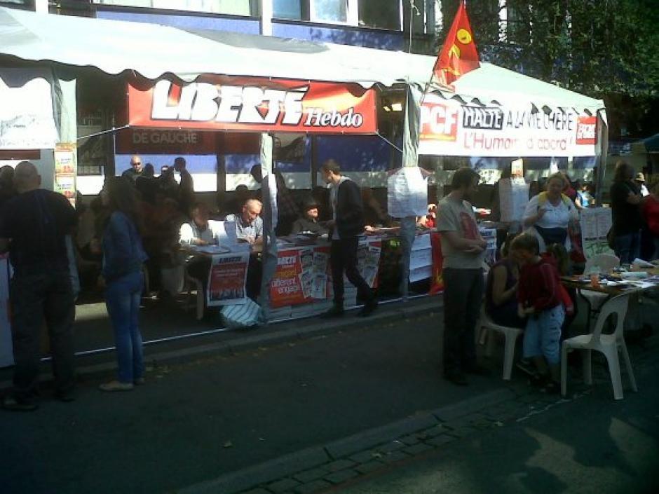 Braderie de Lille 2013 - Retrouvez les communistes sur tout les fronts !