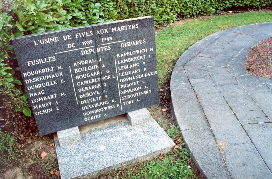 Usine de Fives:  la Résistance et les victimes du nazisme oubliées?