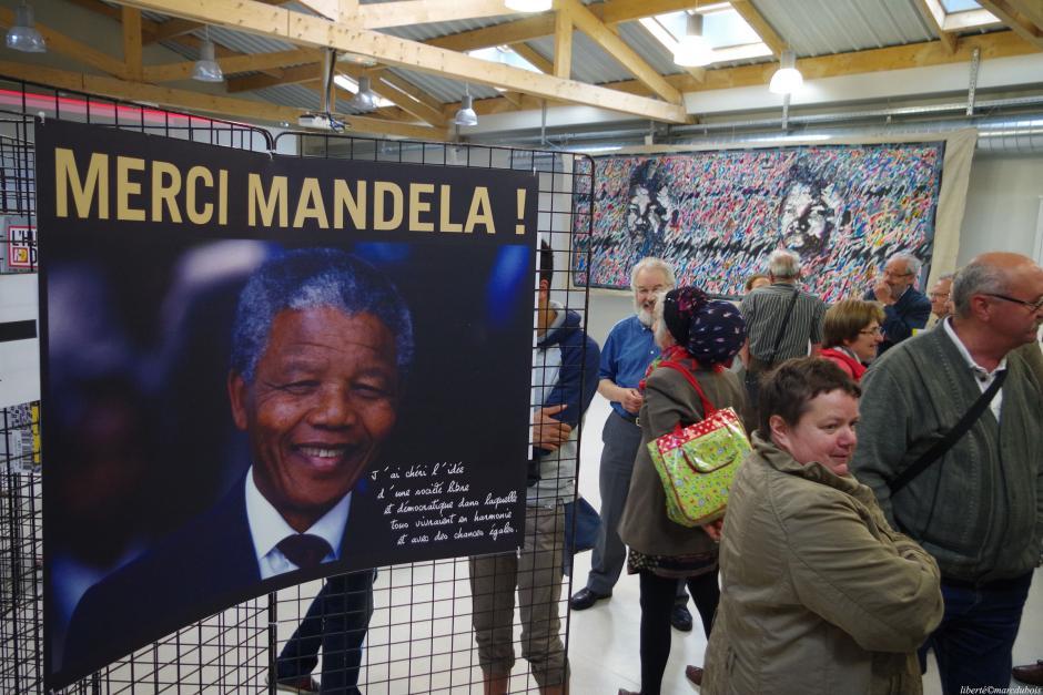 Rassemblement en hommage à Nelson Mandela : Mercredi à 18H place de la République à Lille !