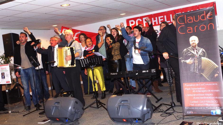 La fête des communistes hellemmois fait le plein ! 300 personnes réunies dans la fraternité et la lutte