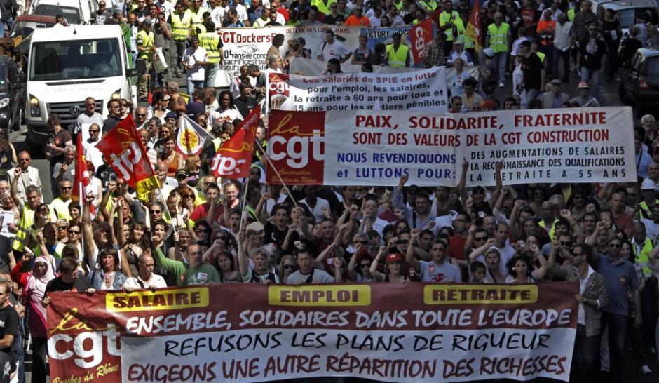 Manifestation 16 octobre à Lille : Mobilisation pour la protection sociale, l'emploi et les salaires