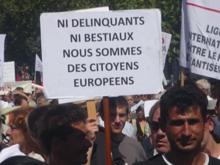 Roms, en finir avec la politique des bulldozers - Communiqué de la section communiste de Lille